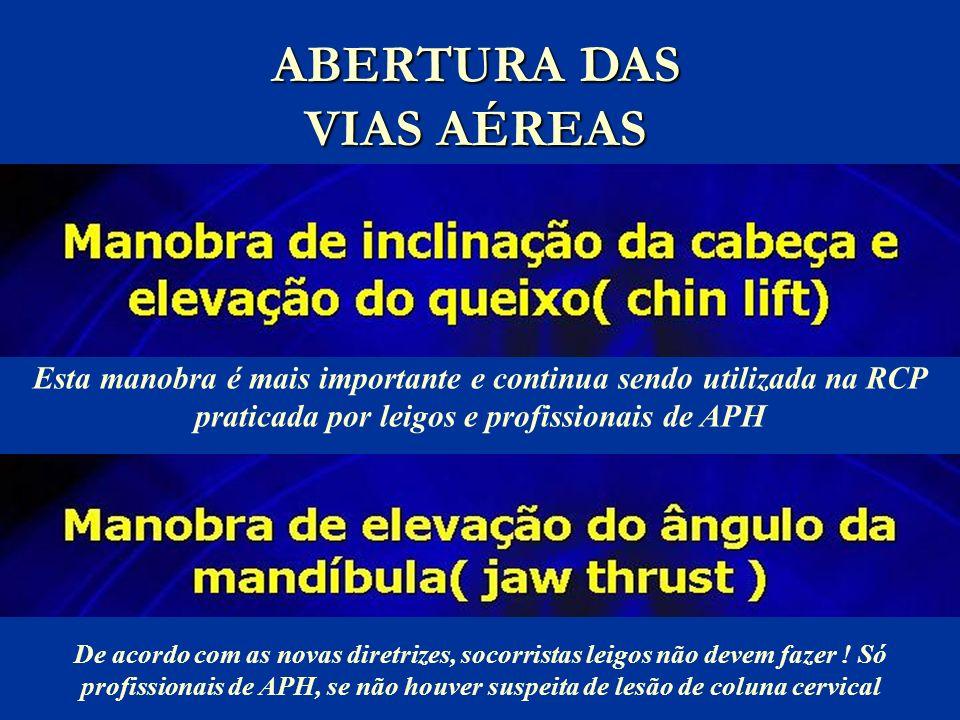 ABERTURA DAS VIAS AÉREAS