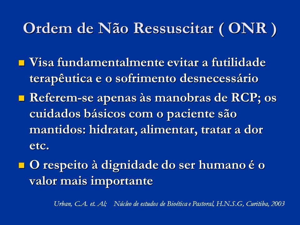 Ordem de Não Ressuscitar ( ONR )