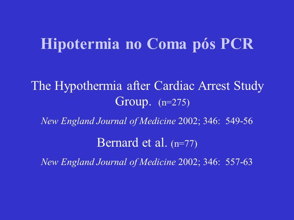 Hipotermia no Coma pós PCR