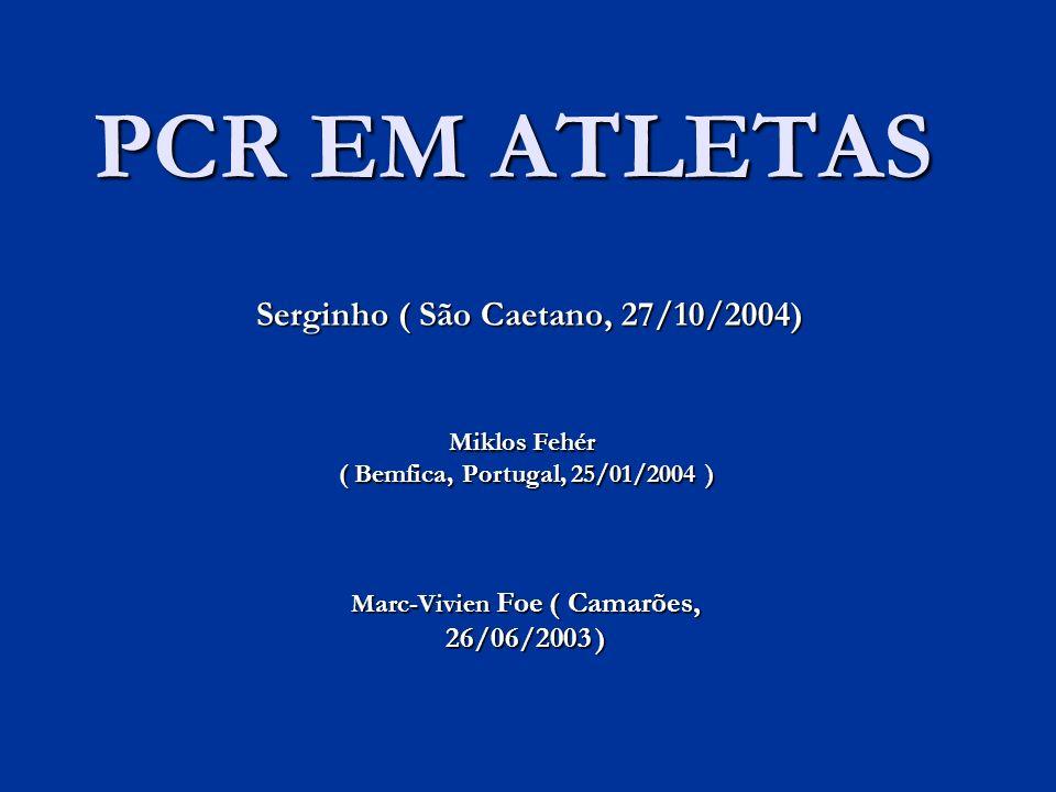 Marc-Vivien Foe ( Camarões, 26/06/2003 )