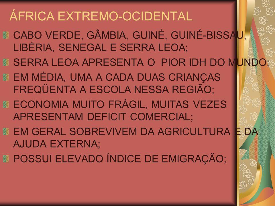 ÁFRICA EXTREMO-OCIDENTAL