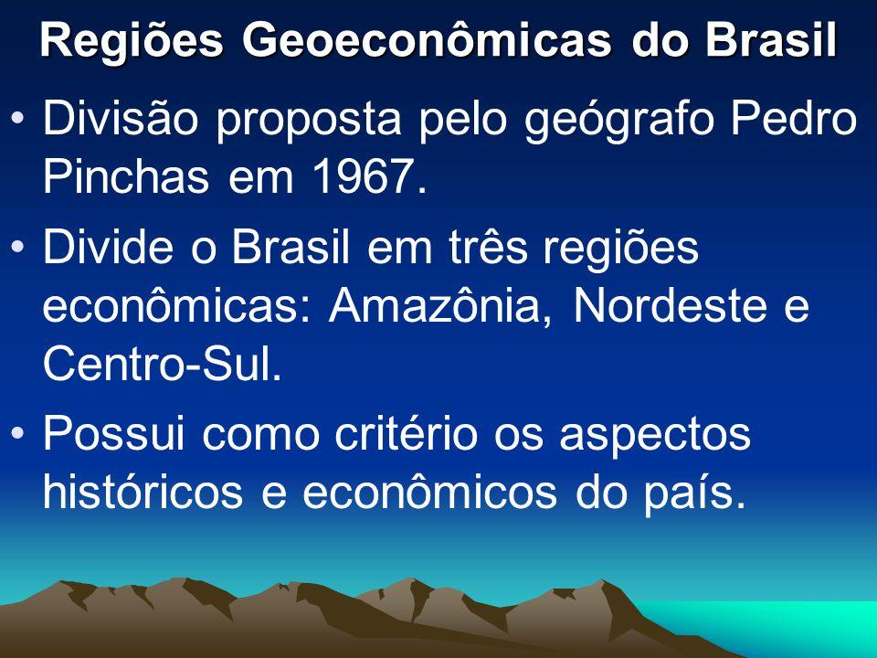 Regiões Geoeconômicas do Brasil