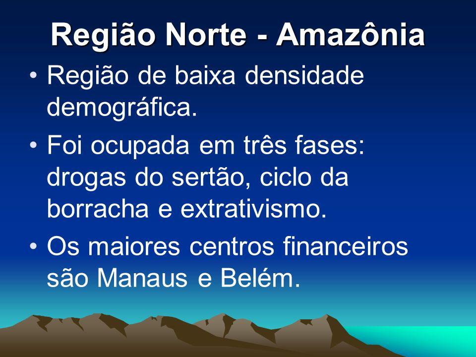 Região Norte - Amazônia