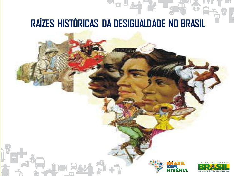 RAÍZES HISTÓRICAS DA DESIGUALDADE NO BRASIL