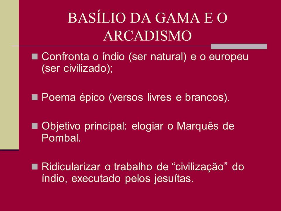 BASÍLIO DA GAMA E O ARCADISMO