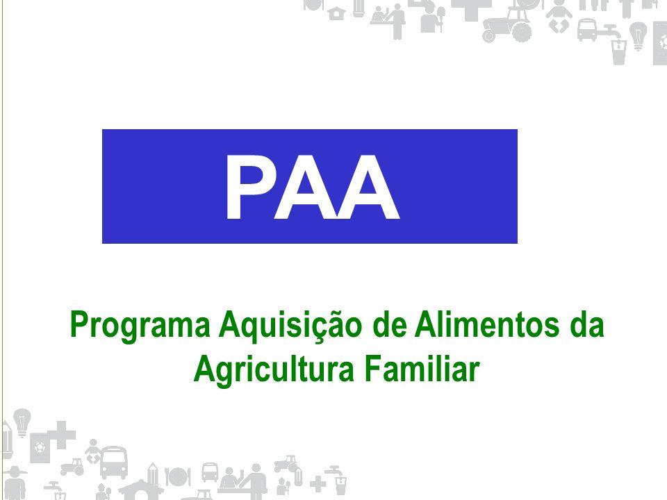 Programa Aquisição de Alimentos da Agricultura Familiar