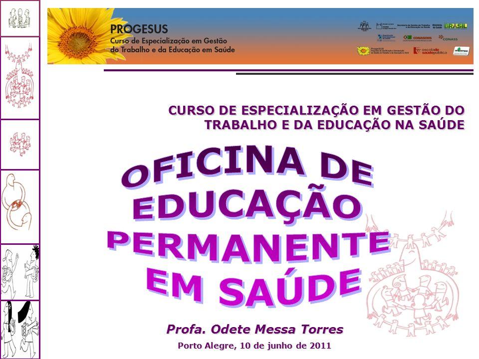 Profa. Odete Messa Torres Porto Alegre, 10 de junho de 2011