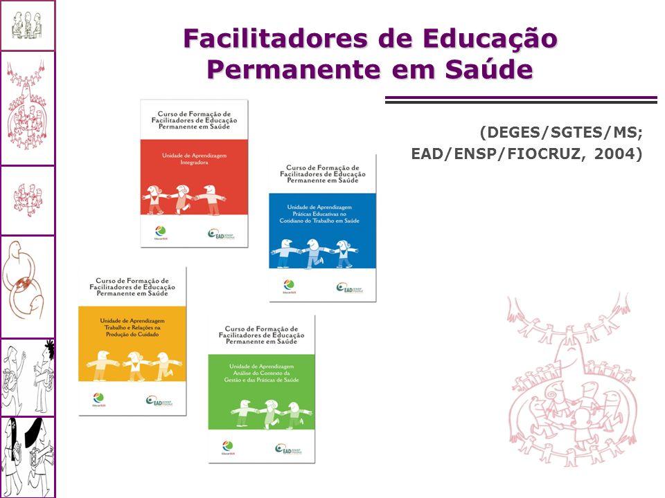 Facilitadores de Educação Permanente em Saúde