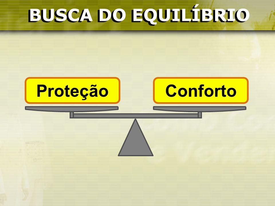 BUSCA DO EQUILÍBRIO BUSCA DO EQUILÍBRIO Proteção Conforto