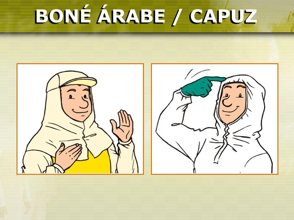 BONÉ ÁRABE / CAPUZ BONÉ ÁRABE / CAPUZ