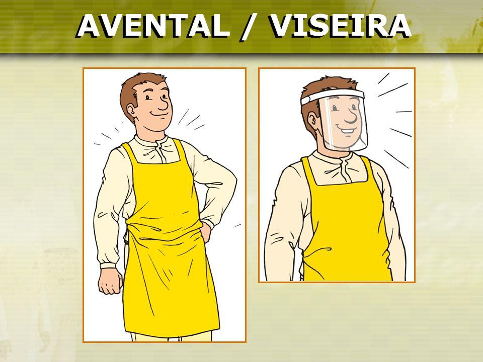 AVENTAL / VISEIRA AVENTAL / VISEIRA