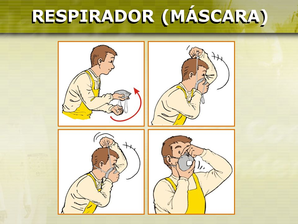 RESPIRADOR (MÁSCARA) RESPIRADOR (MÁSCARA)