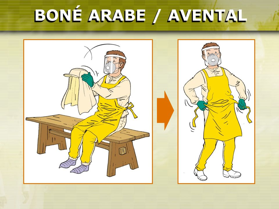 BONÉ ARABE / AVENTAL BONÉ ARABE / AVENTAL