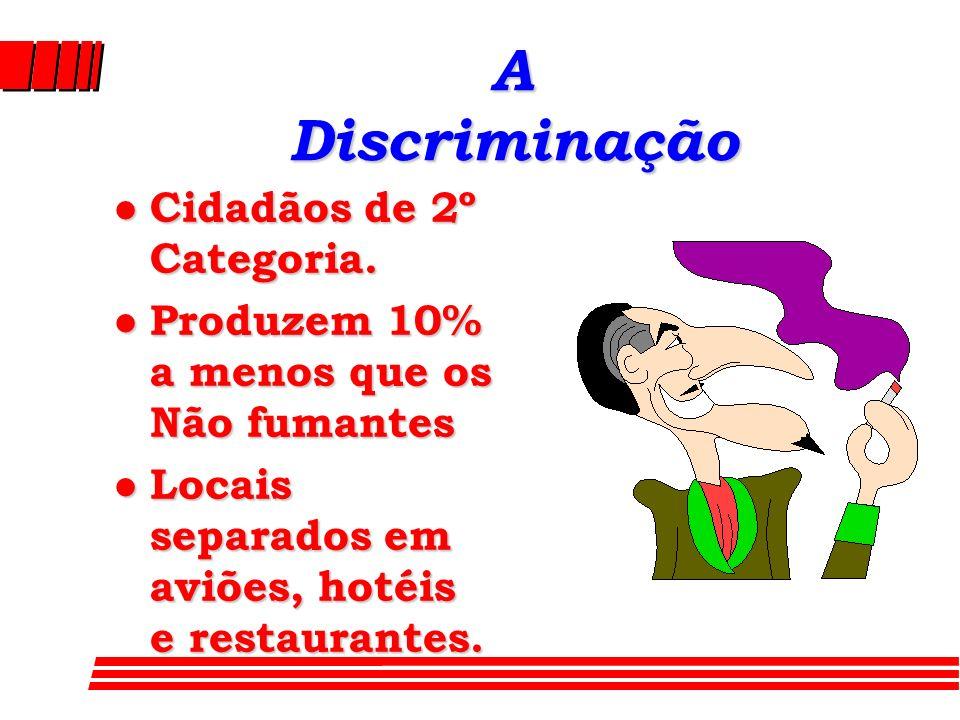 A Discriminação Cidadãos de 2º Categoria.