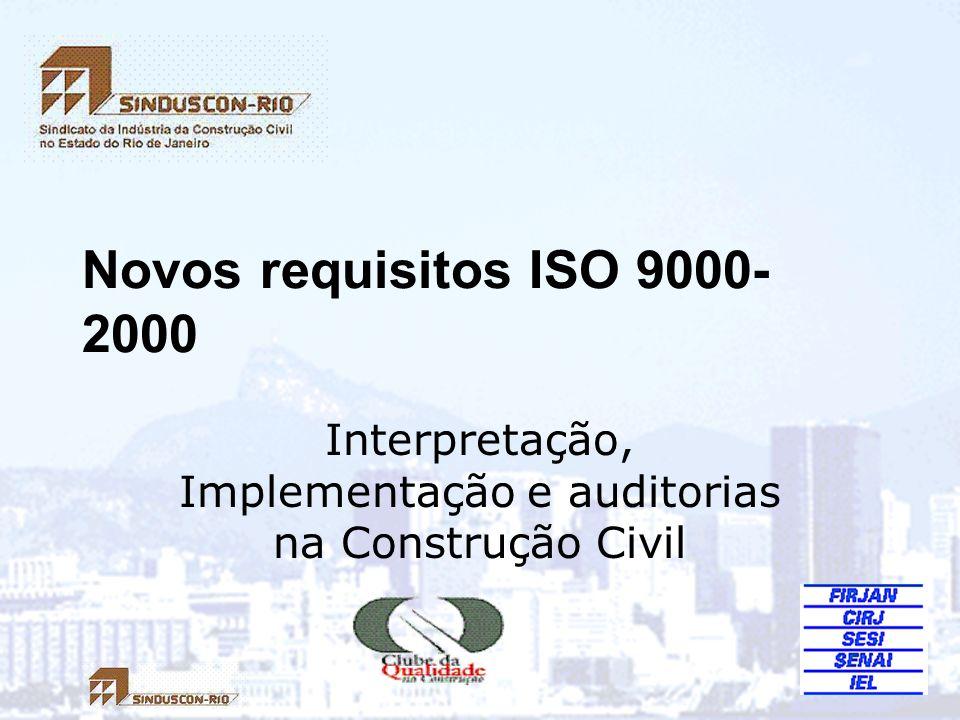 Interpretação, Implementação e auditorias na Construção Civil