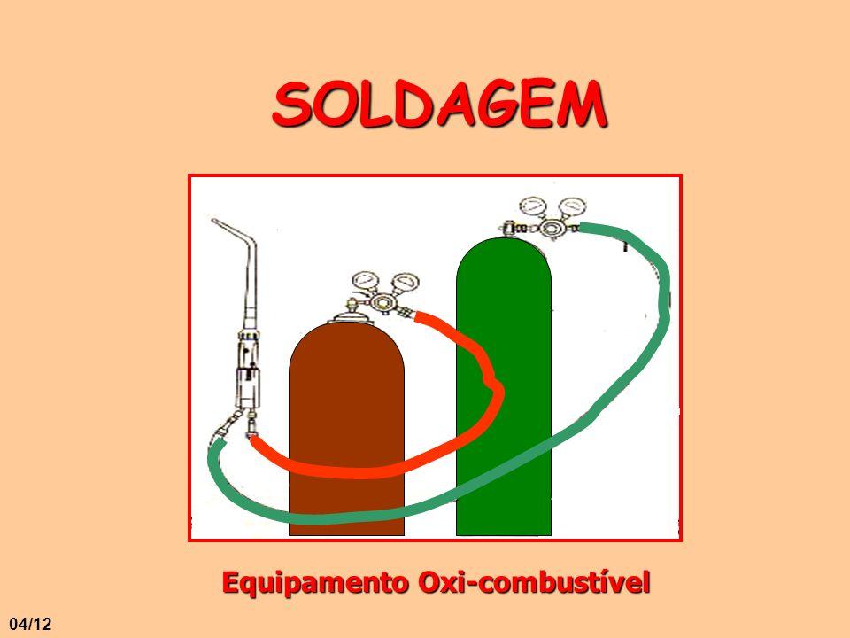 SOLDAGEM Equipamento Oxi-combustível 04/12