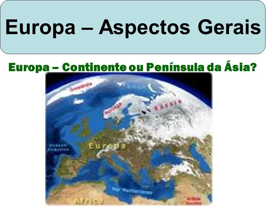 Europa – Aspectos Gerais