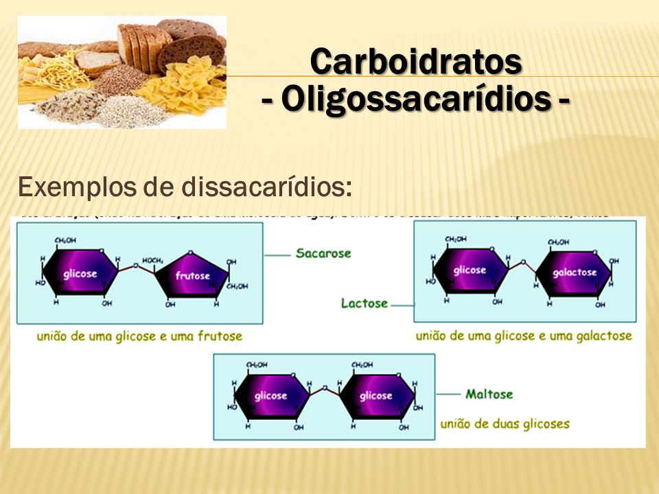 Carboidratos - Oligossacarídios -