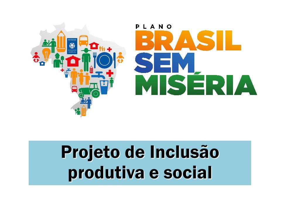 Projeto de Inclusão produtiva e social