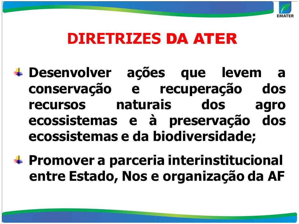 DIRETRIZES DA ATER