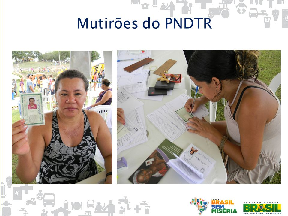 Mutirões do PNDTR