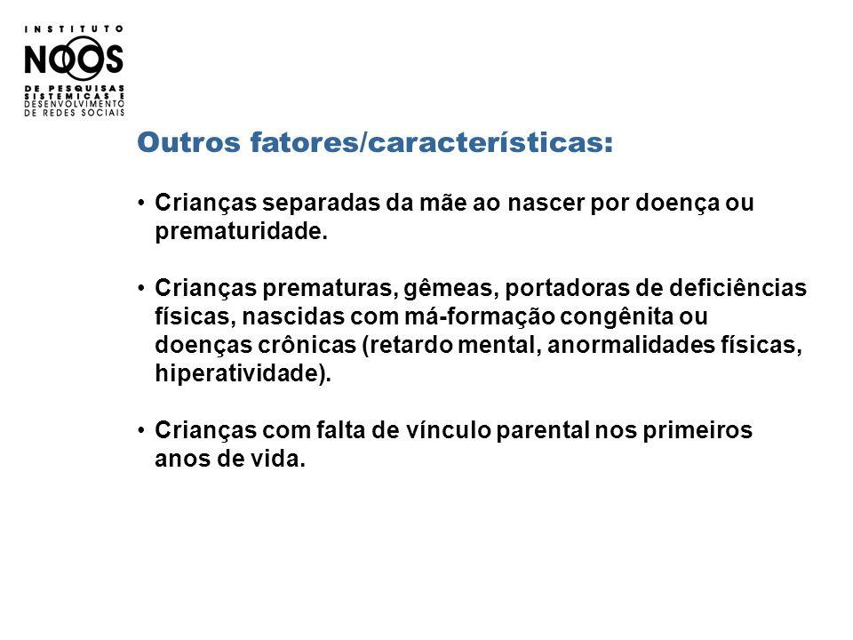 Outros fatores/características: