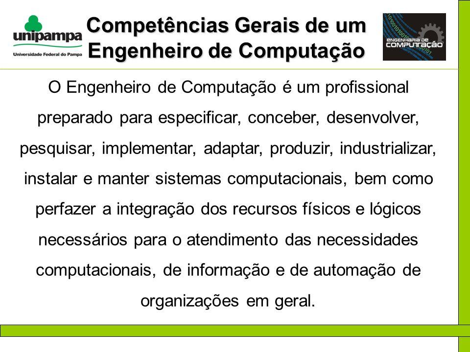 Competências Gerais de um Engenheiro de Computação