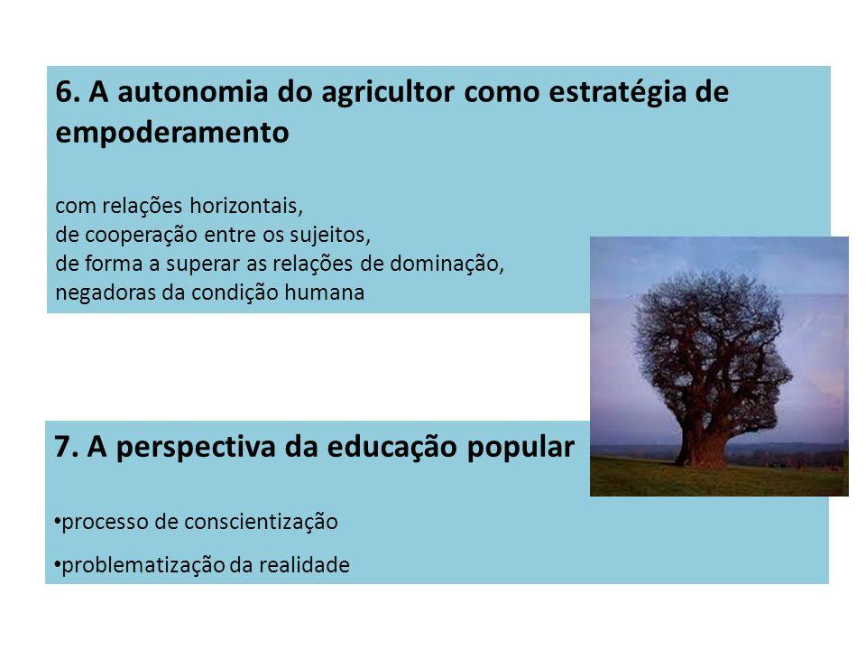 6. A autonomia do agricultor como estratégia de empoderamento