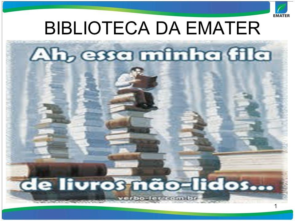 BIBLIOTECA DA EMATER