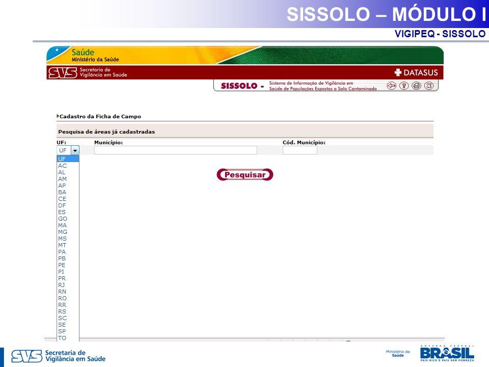 SISSOLO – MÓDULO I