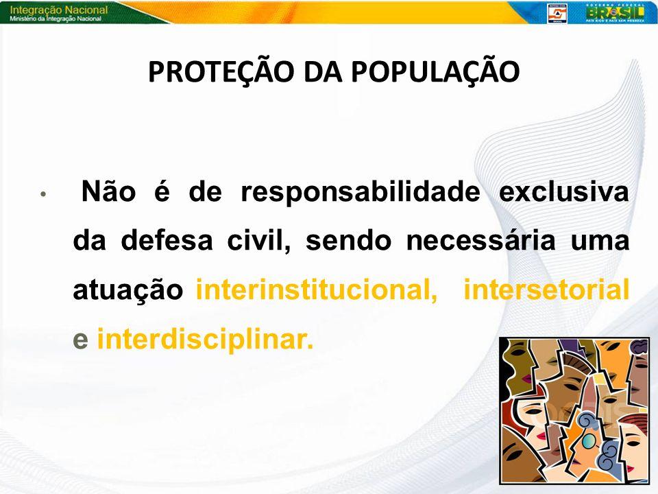 PROTEÇÃO DA POPULAÇÃO