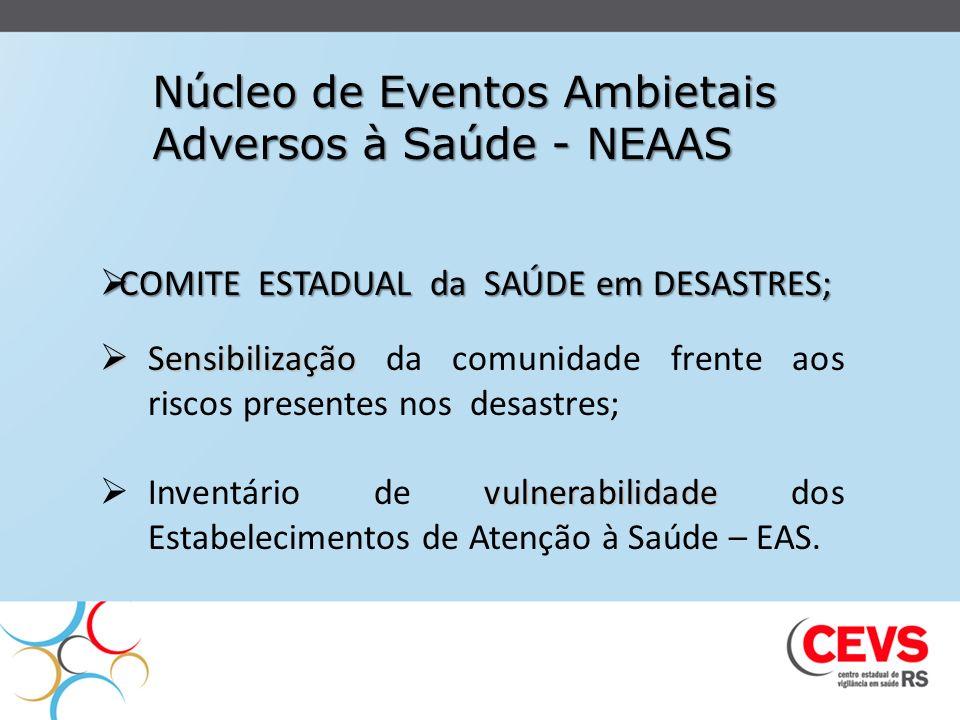 Núcleo de Eventos Ambietais Adversos à Saúde - NEAAS