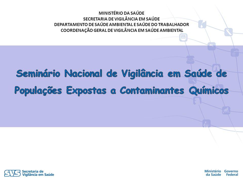 COORDENAÇÃO GERAL DE VIGILÂNCIA EM SAÚDE AMBIENTAL