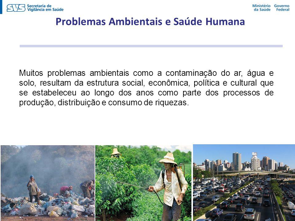 Problemas Ambientais e Saúde Humana