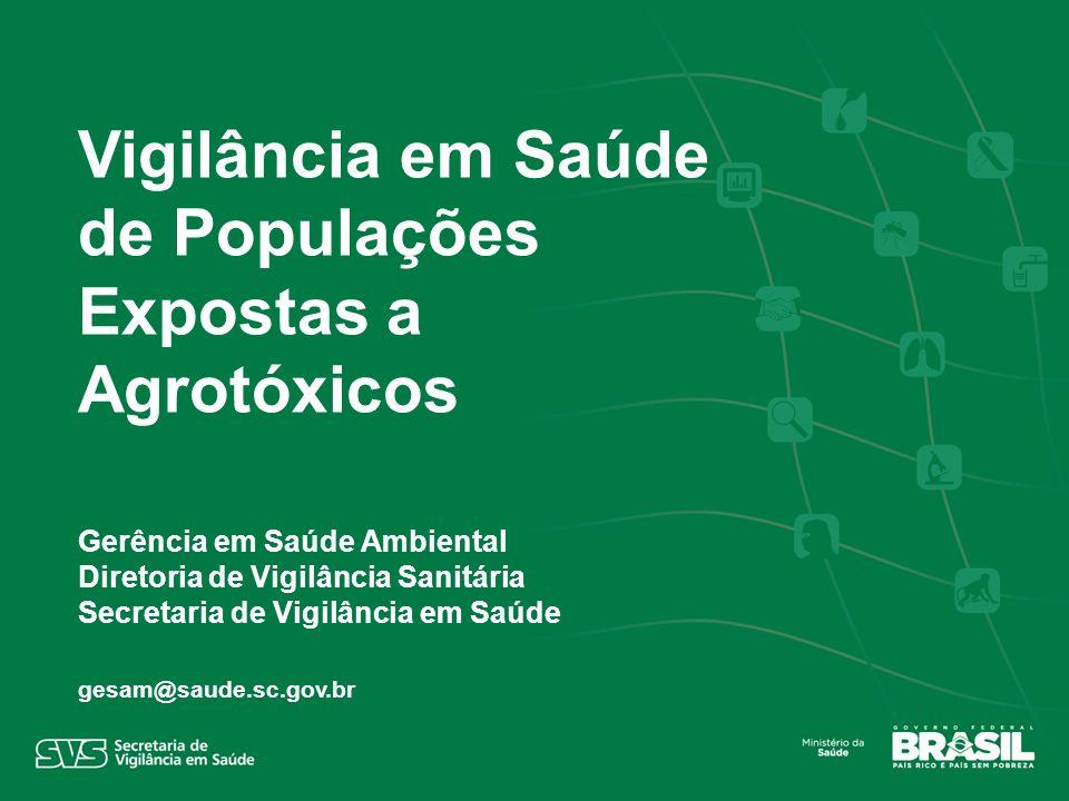 Vigilância em Saúde de Populações Expostas a Agrotóxicos
