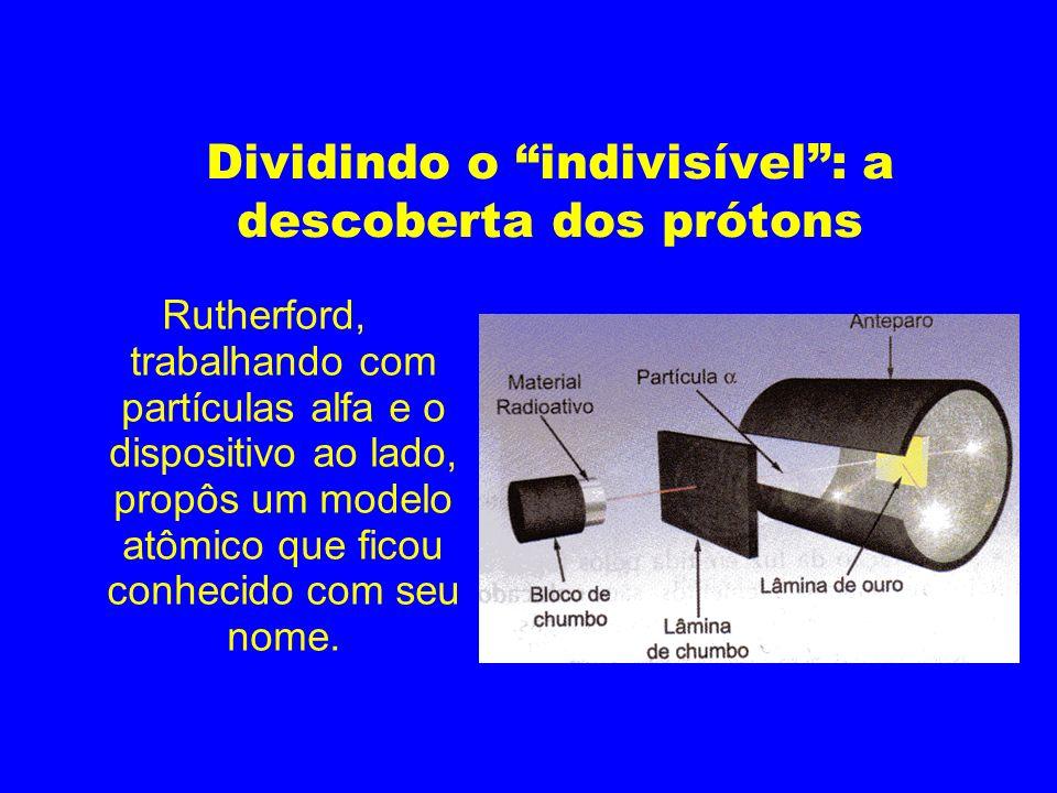 Dividindo o indivisível : a descoberta dos prótons