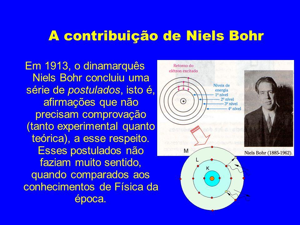 A contribuição de Niels Bohr
