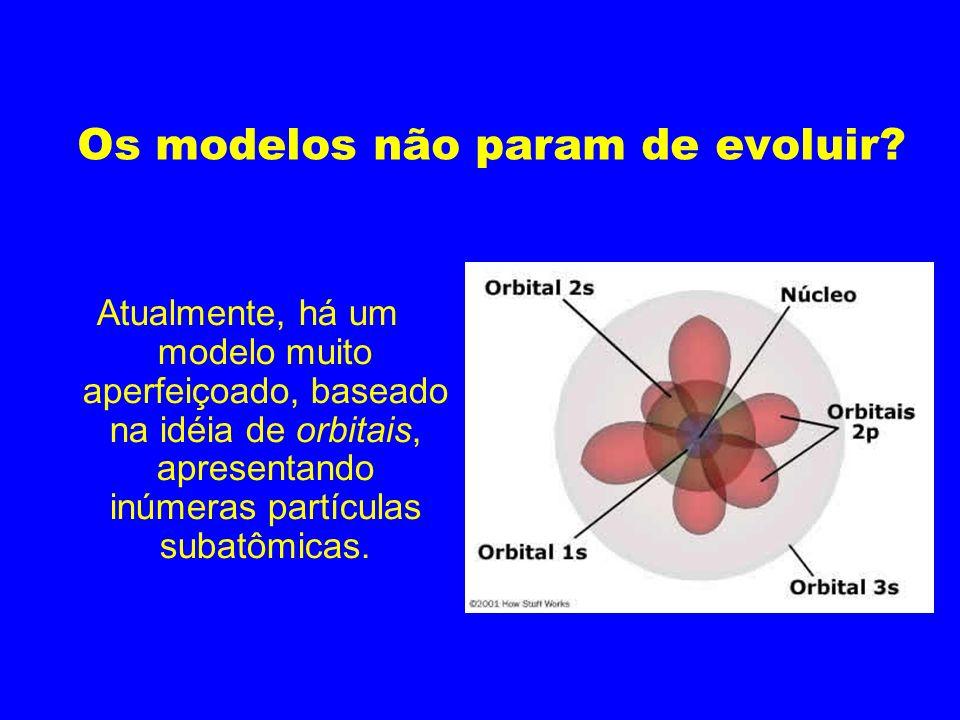 Os modelos não param de evoluir