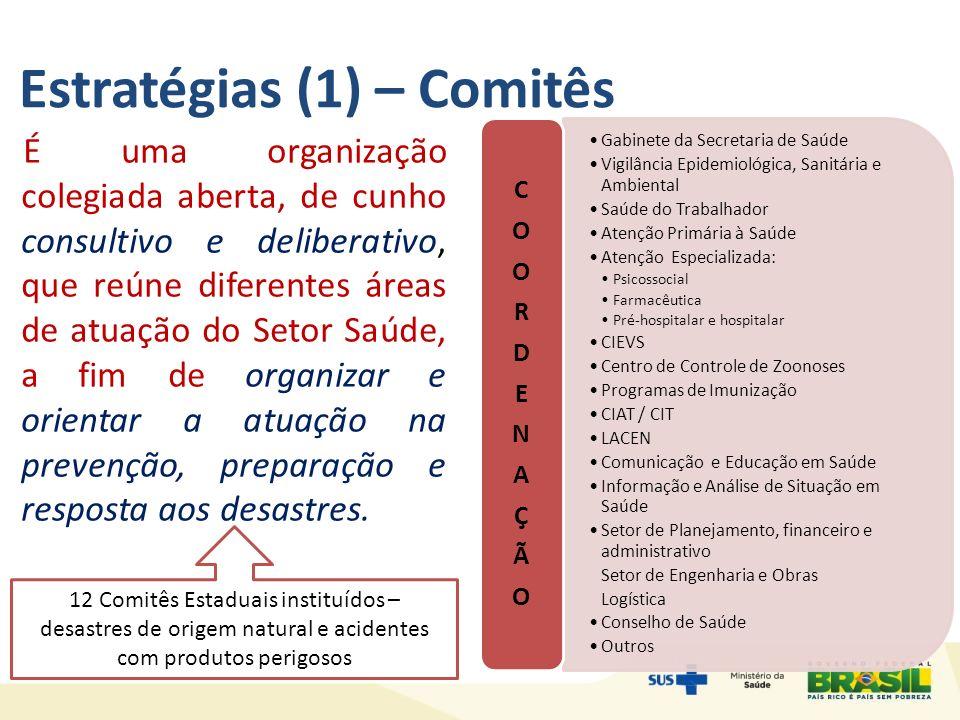 Estratégias (1) – Comitês