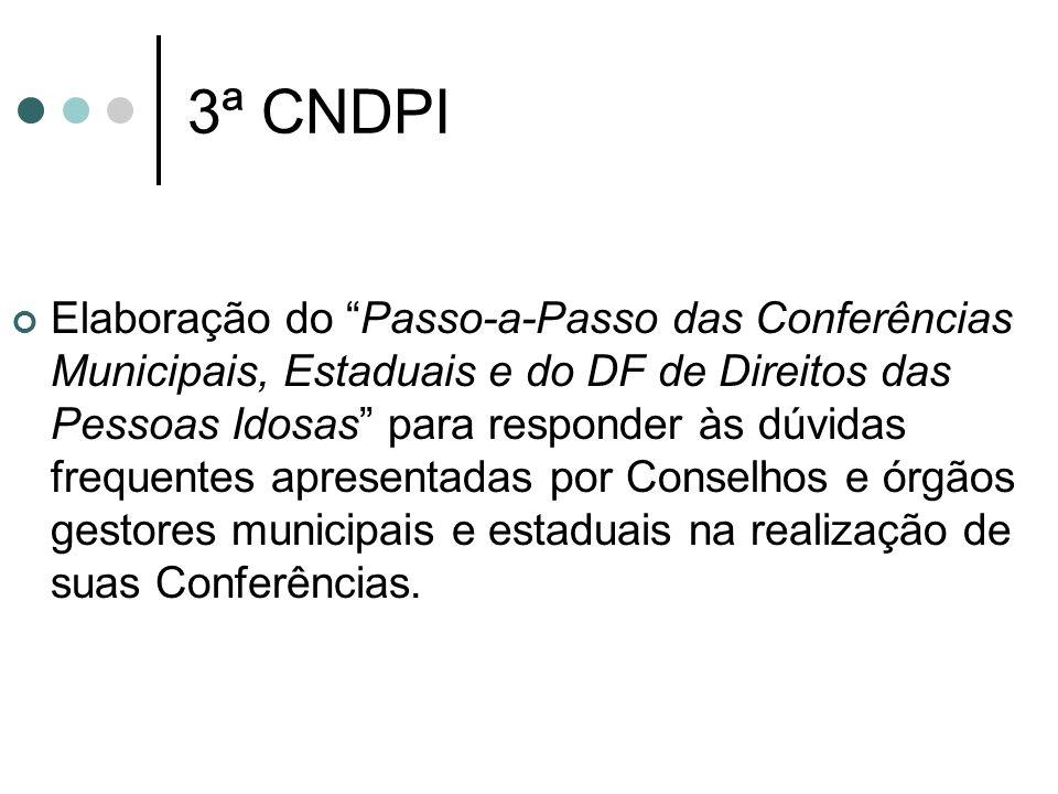 3ª CNDPI