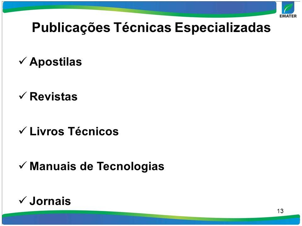 Publicações Técnicas Especializadas