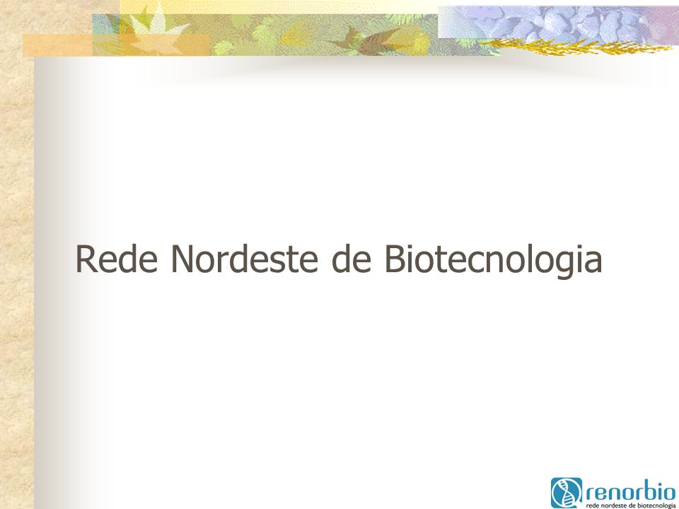Rede Nordeste de Biotecnologia