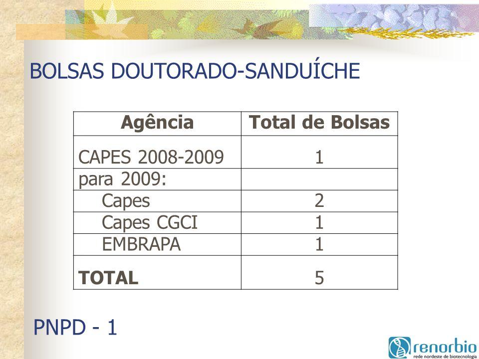 BOLSAS DOUTORADO-SANDUÍCHE