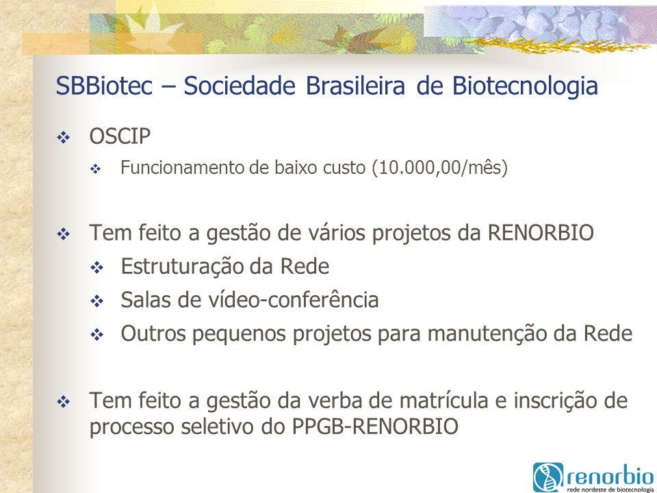 SBBiotec – Sociedade Brasileira de Biotecnologia