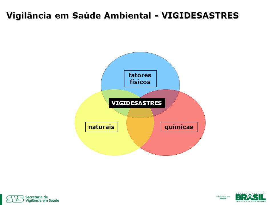 Vigilância em Saúde Ambiental - VIGIDESASTRES