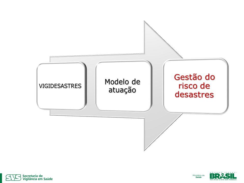 Gestão do risco de desastres