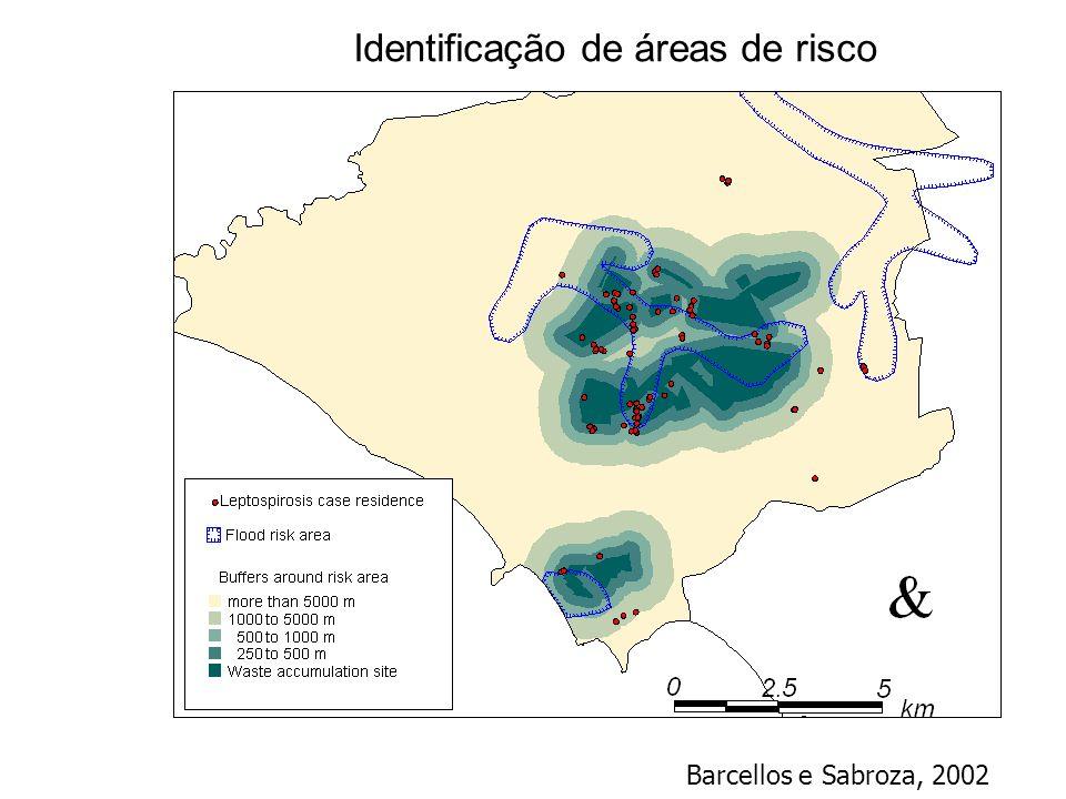 Identificação de áreas de risco