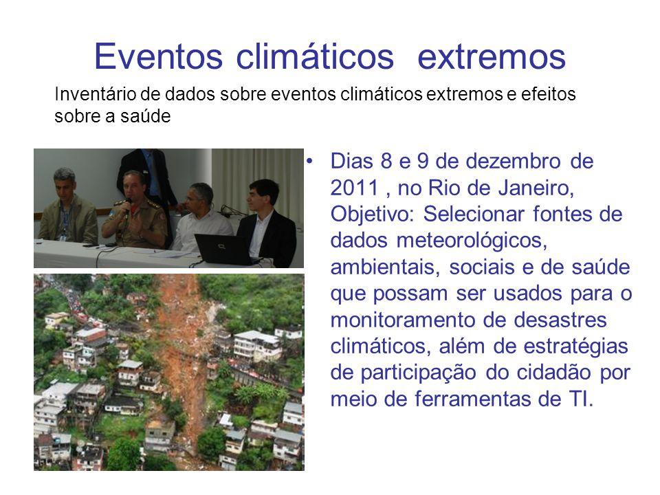 Eventos climáticos extremos