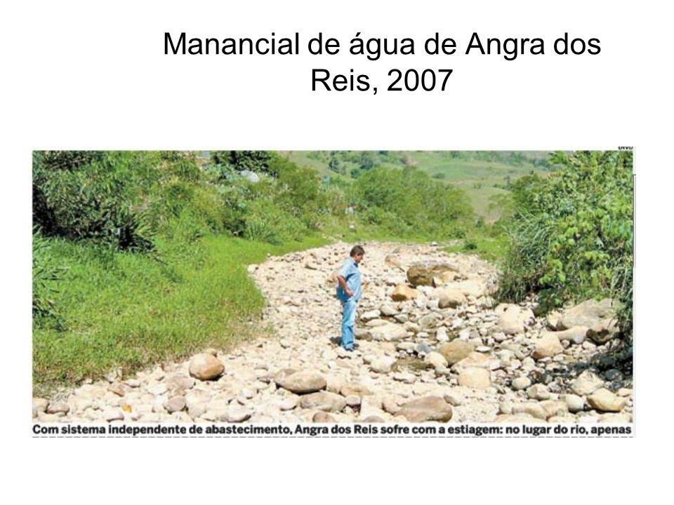 Manancial de água de Angra dos Reis, 2007