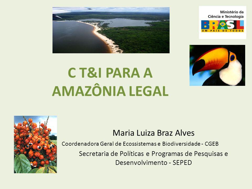 C T&I PARA A AMAZÔNIA LEGAL
